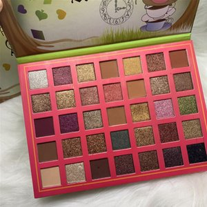 Newest Romanky Alicia Makeup 35color Eye Shadow Palettes Shimmer Matte Eye Shadow Maquillage Eyeshadow Cosmetic Hot Sale