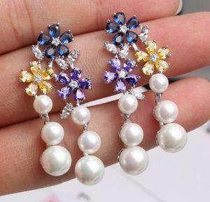 Чудесная Цена Низкая Высокая Свадьба Quality Lady невеста Diamond Crystal Earings 30eretr Hqmpm