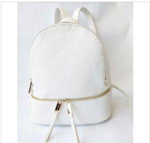 Brand Backpacks famosi di moda Donne Lady Black Red RucksAck Bag Charms Backpack Style 6 Colori 13245
