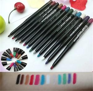 modèles d'explosion de haute qualité M stylo automatique ombre rétractable imperméable couleur des yeux 12 couleurs eye-liner set maquillage SZ361