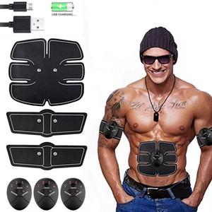 EMS Health Muscolo addominale Stimolatore Elettrico Massager per la perdita di peso Sport trainer Ricarica Body Slim Vibrator Sticker Unisex