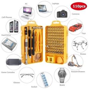 112 in 1 Scruck Set of Screw Driver Bit Set Multi-function Precision Phone Repair Tone Instrument Tools Torx Hex