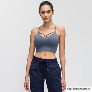 Merillat Melilee Sonder 2019 Sexy Beauty Zurück Yoga Sports Unterwäsche Doppelseitiges Schleifen Wolle Bewegung Bra