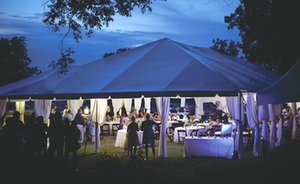 Party Wedding Aluminium Outdoor Tent Canvas Tent For Outdoor Events