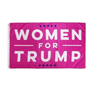 90x150cm Woman for Trump Letter Design Flag Women Banner United States Presidential Election Bunting Trump Flag Portable Banner Party