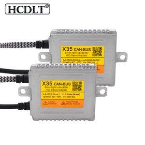 HCDLT HID 35W Xenon Balast Orijinal DLT X35 Canbus Hızlı Strat HID Balast Reaktör için 35W Yeaky Cnlight Heartray Xenon Kiti