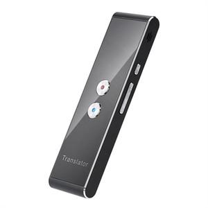 Portátil Tradutor Mini inteligente de voz Speech para o curso de Aprendizagem negócio Reunião 3 em 1 Voz Texto Foto Language Translator Jogos Wireless