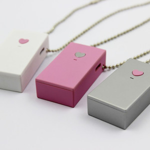 New Personal Pendants Necklace USB Portable Air Purifier Wearable Mini Negative Ion Air Freshener No Radiation Low Noise for Adults Kids