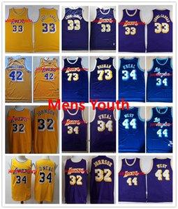NCAA James 42 Worthy Dennis 73 Rodman Wilt 13 Chamberlain 32 Johnson Shaquille 34 The Neal 33 Abdul-Jabbar Jerry 44 West College Jerseys MAN