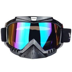Neue Motocross Brille Brille DH Radfahren MX Off Road Helm Ski Skating Sport Gafas Für Motorrad Dirt Bike Racing Brille