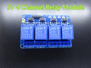 1pc / lot New 5V 4 Channel Module Relay For PIC AVR DSP ARM Arduino no transporte free