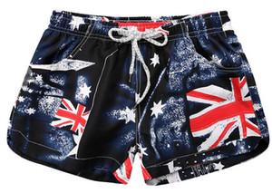 Pantalones cortos para mujer nuevos Pantalones cortos sexy para el verano Pantalones cortos de playa casual de cintura alta Mini
