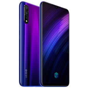 "Vivo d'origine iQoo Neo 855 4G LTE Cell Phone 6 Go RAM 64 Go 128 Go ROM Snapdragon 855 Octa base Android 6.38"" 16MP ID d'empreinte Téléphone mobile"