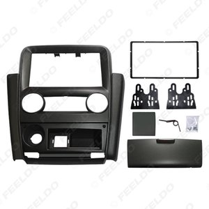 Car 2Din Radio Fascia Frame for Mistubishi V3 Lingyue Stereo DVD Audio Panel Dash Installation Trim Kit #1579