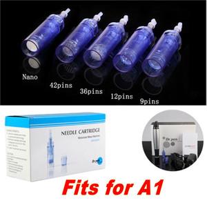 Substituição drpen Agulhas parafuso cartuchos para ultra-A1-A1 W-C Dr. Derma Pen Auto sistema de microagulhas de 1/3/5/7/9/12/36 / 42pin