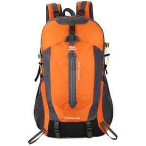 Designer-50L Resistente À Água Das Mulheres Dos Homens Mochila de Alta Qualidade Unisex sacos de Nylon Caminhadas Mochila de Viagem Ao Ar Livre Camping Escalada Mochila