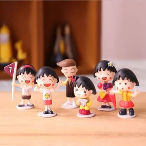 Cheap plastic figure wholesale oem anime toys sakura momoko hands birstday gifts children's lovely cute and 3.5~4.5cm