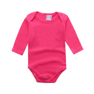 Baby Rompers Newborn Jumpsuit 100% Cotton Playsuit Outfits Girls Jumpsuits Babies Onesies Long Sleeve Envelope Collar 0-24M Rusia