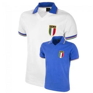 Rétro Coupe du monde 1982 maillots de football Italie Cabrini Conte Rossi Tardelli Gentile MAISON LOIN 82 Retro Maillot de foot 2XL