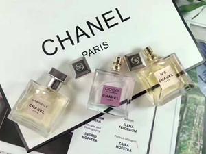 Neue heiße europäische und amerikanische Art und Weise Geschenk verpackt Damen Parfüm 3 Arten von Duft freies Verschiffen anhaltenden Duft