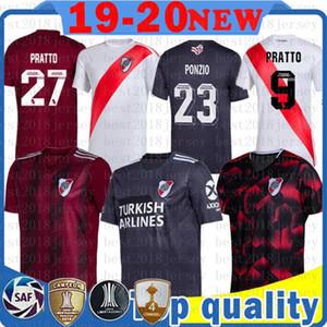 River Plate Soccer Jersey QUINTERO 8 G.MARTINEZ 10 Pratto 27 maillot de football Scocco MARTINEZ R. MORA Ponzio Pratto BORRE Maillots de MEN pied