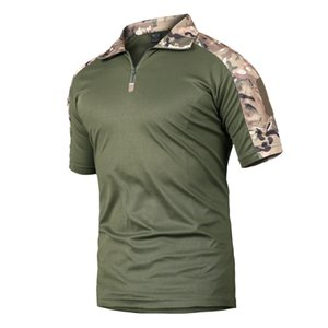 High quality outdoor tactical short-sleeved quick-drying T-shirt,men's wild military training frog suit,military fans drop S-2XL