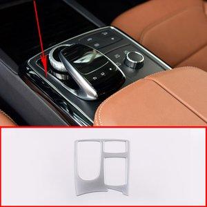 Pour GL / GLS 2013-2019 Accessoires voiture ABS Contrôle Central Cadre Multimédia Décoration pour - ML / GLE 2012-2019