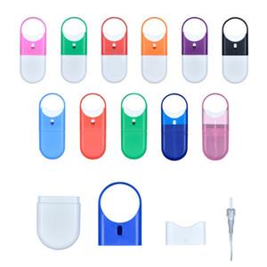10ml Ring Sprühflasche Mückenschutz Sprayer im Freien Anti-Moskito-erwachsenen Kind Reise portable Atem frisch kosmetische Sprühflasche