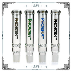 9 Inches Glass extended Glass Smoking Tube fit #34 male joint Water Pipe bongs accessories Long Glass Tube Free Shipping