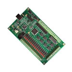 3 4 axis Mach3 CNC E-CUT Motion Controller USB driver control Card 200khz Breakout Board Interface