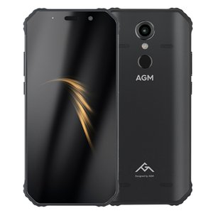 AGM A9 Red Phone, 4GB+64GB, IP68 Waterproof Dustproof Shockproof, Fingerprint Identification, 5400mAh Battery, 5.99 inch Android 8.1