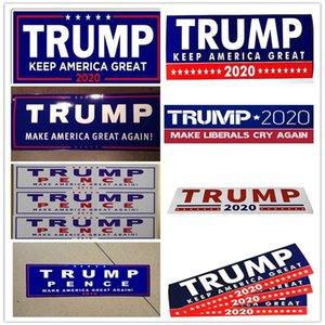 Donald Trump 2020 Araba Çıkartmaları Tampon Sticker Amerika Büyük Yapmak Tutmak için Araba Styling Araç Paster Trump Çıkartmalar