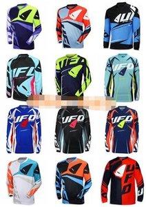 New Custom Ufo in discesa lungo manica corta t-shirt equitazione tuta Suit Suit sport esterni Off-Road Motorcycle