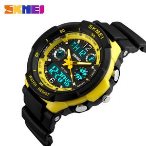 SKMEI los niños se divierte los relojes de la manera LED del reloj digital de cuarzo Niños Niñas Niños 50M de pulsera a prueba de agua 1060