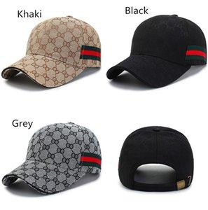 Unisex Baseball Cap Designer Casquette Men Women Visor Caps Red Green Webbing Hats Sports Hip Hop Cap Snapbacks Summer Hats Sunhat 3 Colors