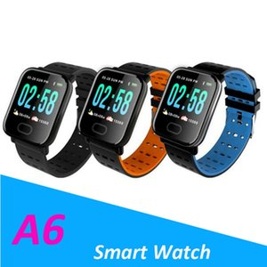 A6 Smart Watch with Heart Rate Monitor Fight Tracker Blood Price Bracelet Smartwatch Water Section IP67 For Android IOS PK Q8 V6 S9