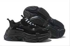 Paris Triple-S Designer Luxury Shoes Low Top Sneakers Triple S Men's and Women's Casual Shoes Outdoor Sports Trainers Shoes size 36-44