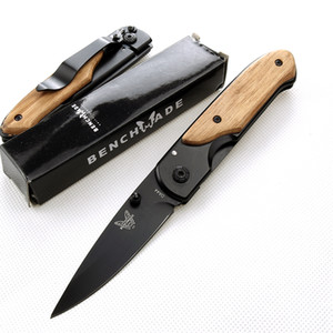 facas auto atacadista Benchmade DA44 cabo dobrável faca MADEIRA C81 A07 BM3300 BM3500 campismo faca de caça tática com ferramenta ferramentas EDC