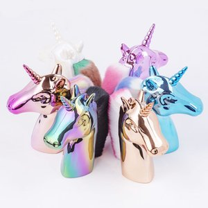 Tools Nail Brushes 1Pc Rainbow Unicorn Design Nail Art Glitter Brush Acrylic UV Gel Polish Powder Remove Dust Clearing Pen Nails