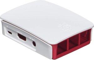 Offizielle Raspberry Pi 3 Fall - Rot / Weiß