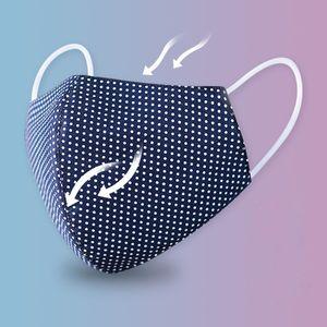 Mode Masque Visage Coton Hommes Femmes Masques anti-poussière Respirant Printemps Eté bouche mince moufles Masque unisexe face à la conception 6 couleurs Top qualité