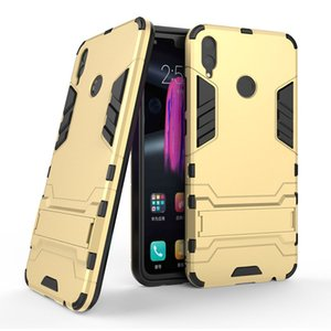 Cool Fashion Armor Protective case For Huawei honor 5X 6X 7X 7A 8X 8 8A 9 10 lite case 9i 10i V9 V10 V20 magic2 Stand cover case