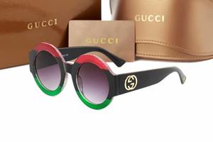 Y0084 neue Marke Brille kleine Biene Brille New Round Frame Sonnenbrille, europäischen und amerikanischen Internet-Prominenten Retro-Sonnenbrille