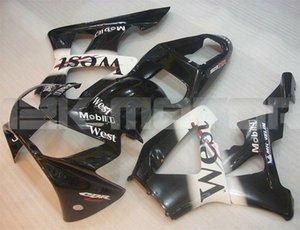 vendas Hot nova carenagens Injection Mold ABS motocicleta Kits próprios para HONDA CBR900RR CBR929RR 2000 2001 personalizado gratuito Black White