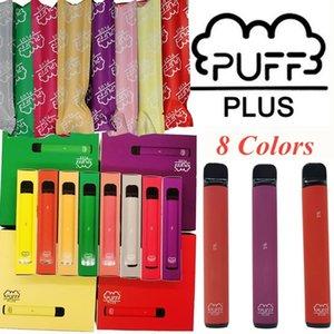 Puff Artı Bar Tek Pod Cihaz 550mAh Pil 3.2ml Kapasitesi Puffbars Vape Bar yeni Güvenlik Kodu Tek PUFFPLUS ile kalemler boşaltın