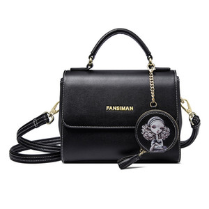 handbags 2019 new autumn and winter Korean wild hand shoulder bag Messenger small bag fashion texture