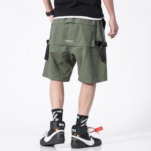 iiDossan tasche pantaloncini casuale uomini pantaloni estivi uomini diritti della moda streetwear Hiphop Cargo Pants Drop Ship Nuove Shorts Moda