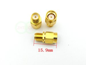 100pcs Gold plated SMA female jack to RP-SMA male jack center RF coaxial adapter