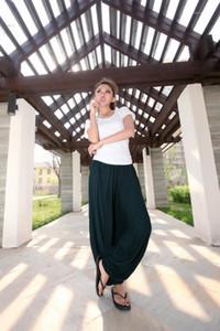 Bel Gevşek Tam Boy Pantolon Yaz Saf Renk Casual Bayan Pantolon Tasarımcı Harem Pants Elastik Womens