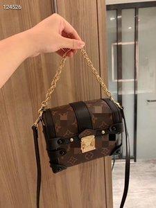 2020 women designer bags L letter print designer crossbody bag 17 14cm high quality stamped shoulder bag high quality designer purse